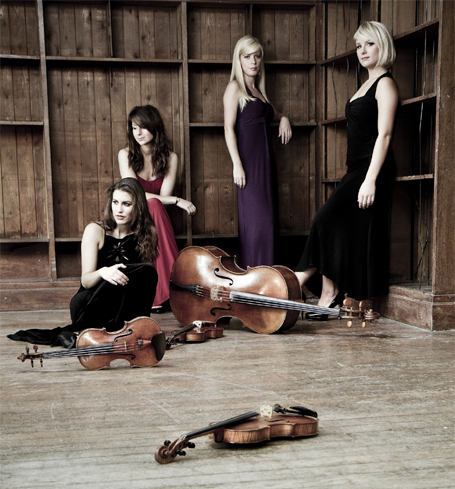 Book Classical Band in London - Diamond Strings Quartet Classical Musicians